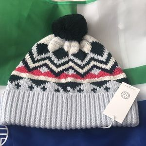 New authentic Tory Burch performance beanie hat